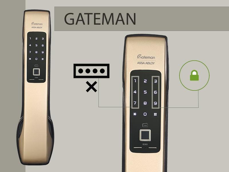 قفل رمزی (قفل دیجیتال رمزدار) - اخبار قفل دیجیتال - انواع مدلهای قفل  سامسونگ رمزی