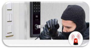 سیستم امنیت خروج قفل الکترونیکی هوشمند