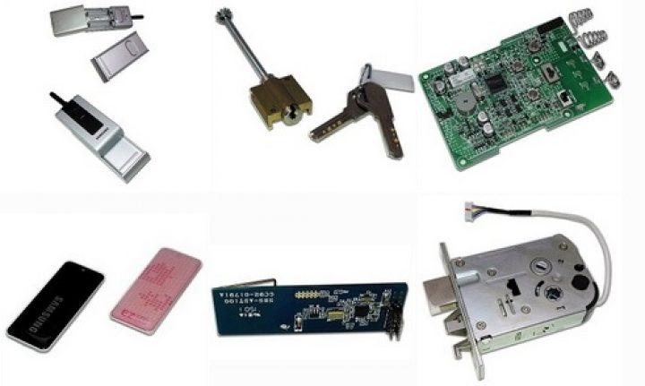 قطعات قفل دیجیتال